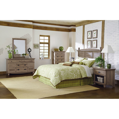 Sauder Harbor View Salt Oak Furniture Collection