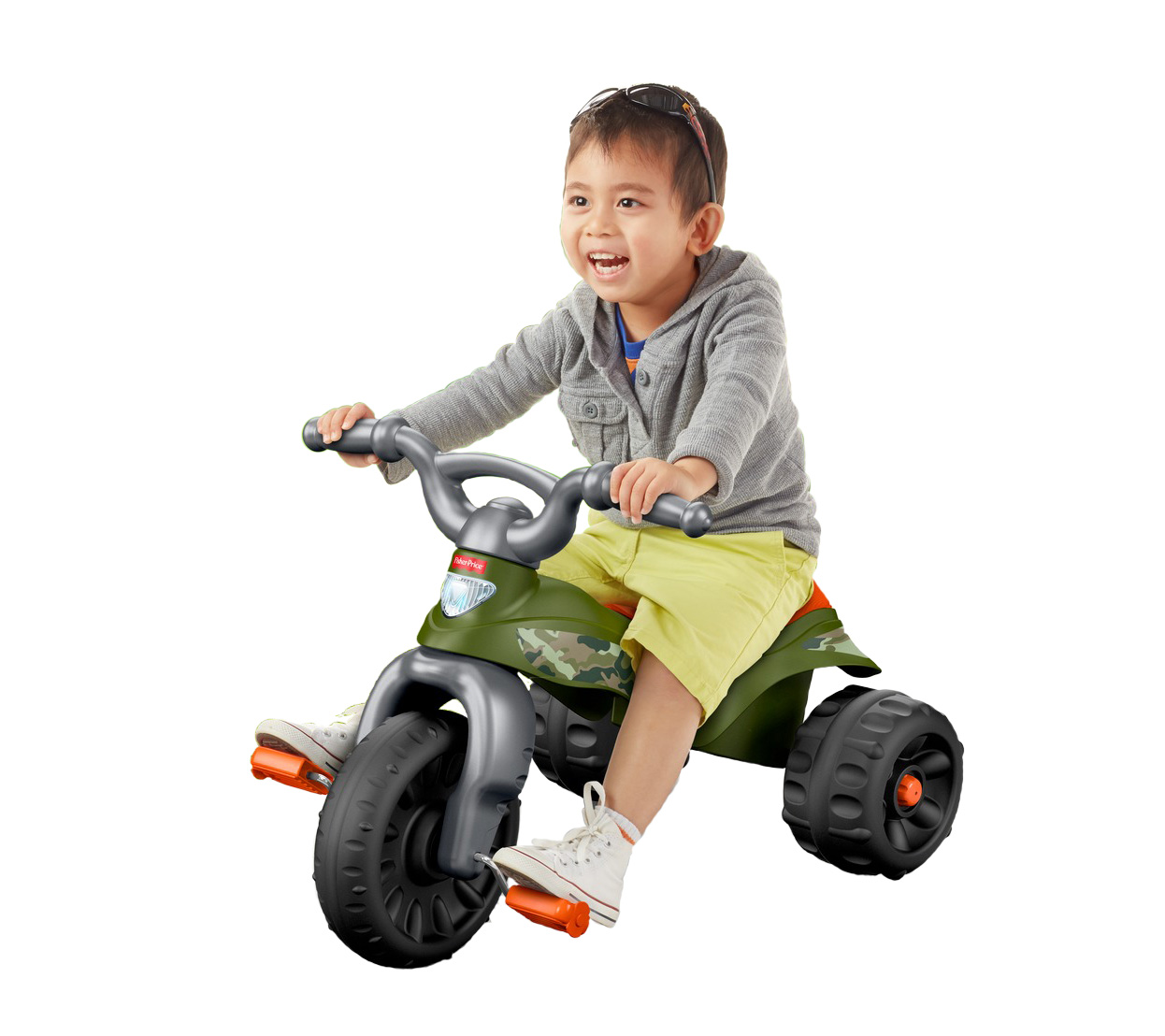 Fisher Price Tough Trike, Camo by Fisher-Price