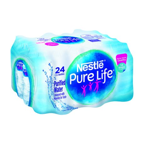 Nestle Pure Life Purified Water  16 9 Fl Oz  24 Count