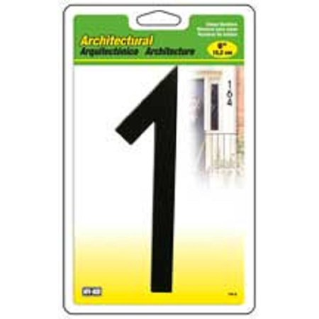 #1- 6 Inch Architectural House Number
