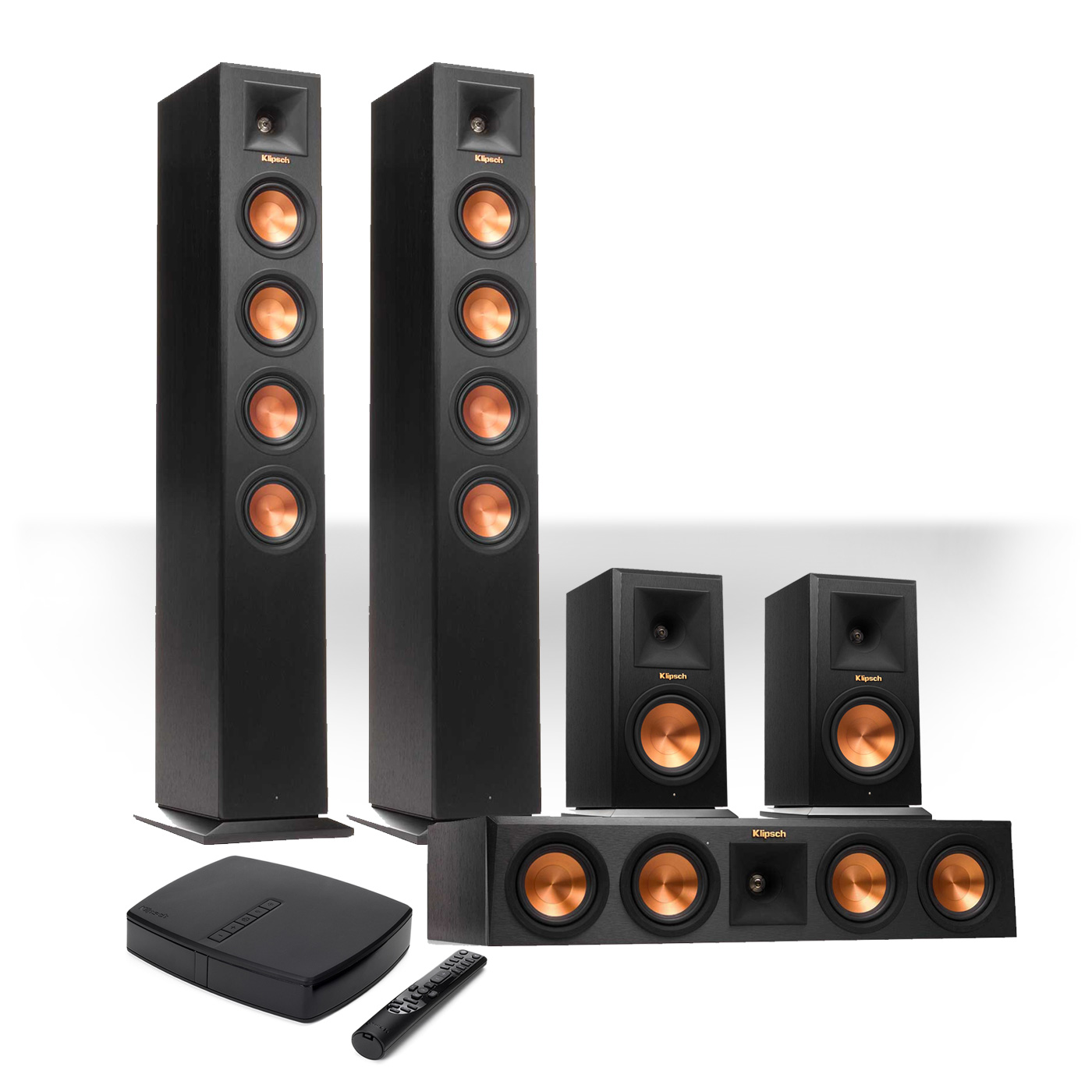 Klipsch Premiere HD Wireless 5.0 Speaker System w  HD Control Center by Klipsch