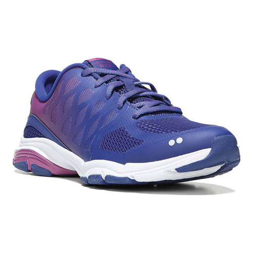 ryka women's vestige rzx cross-trainer shoe, navy/pink, 5 m us
