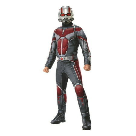 Marvel Ant-Man & The Wasp Deluxe Mens Ant-Man Halloween Costume - Funny Easy Mens Halloween Costumes