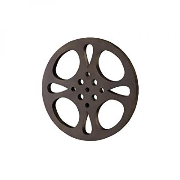 Benzara Deco 79 Metal Movie Reel, 18-Inch