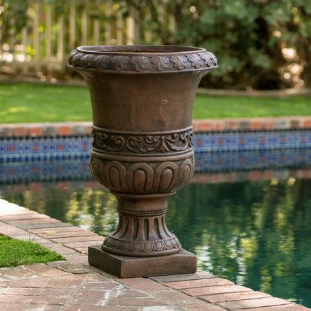 Vintage Park Urn Planter - Brown Turkish 26 in. Urn Planter
