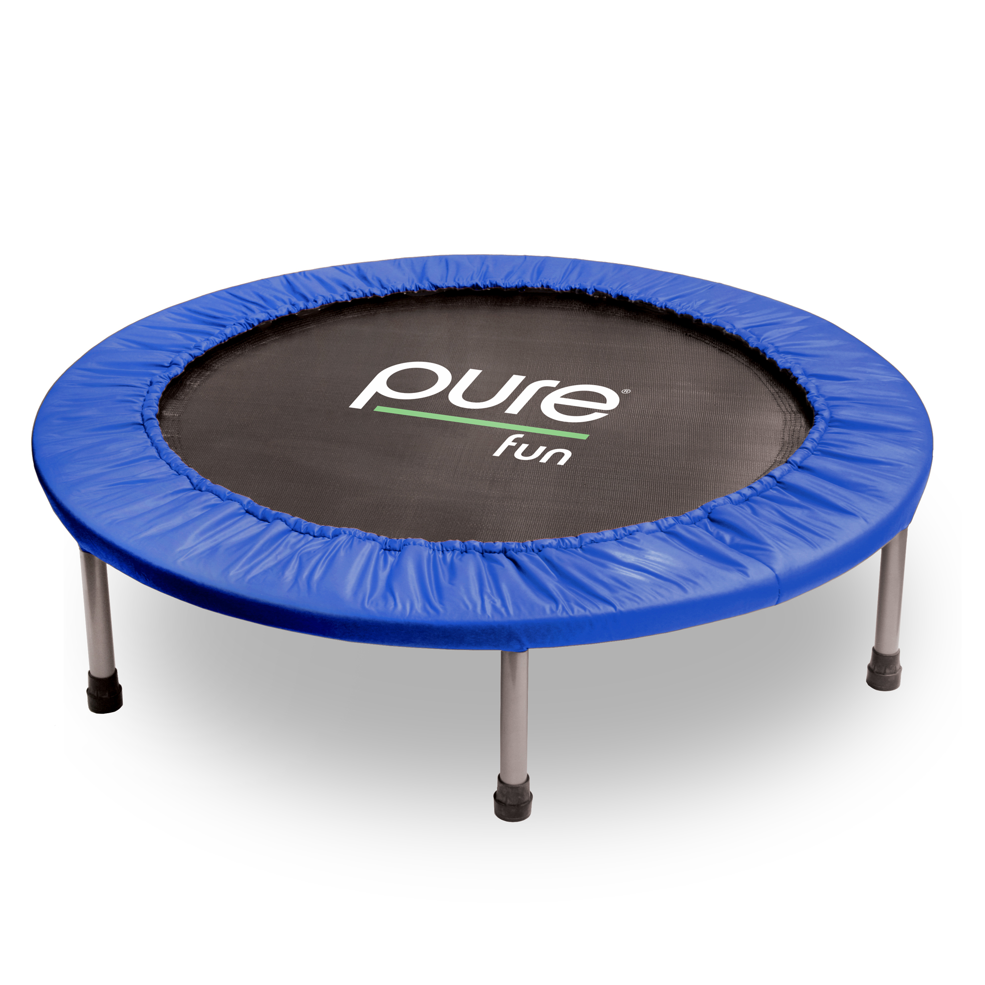 Pure Fun 38-Inch Exercise Trampoline, Blue