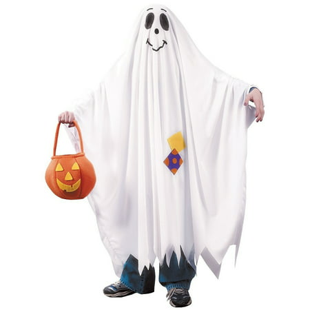 Kids Friendly Ghost Costume (Fun World Friendly Ghost Kids Child Halloween Costume -)