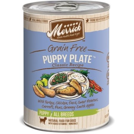 Merrick Puppy Plate Canned Puppy Food 12/13