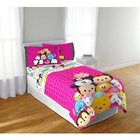 disney tsum tsum twin sheet set. Black Bedroom Furniture Sets. Home Design Ideas
