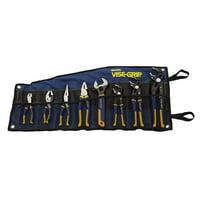 Deals on Irwin Vise-Grip 2078712 8-Piece GrooveLock Plier Set