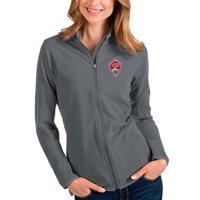 Colorado Rapids Antigua Women's Glacier Full-Zip Jacket - Silver