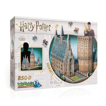 Wrebbit Puzz 3d Puzzle - WREBBIT 3D Hogwarts Great Hall 3D Puzzle (850 Piece)