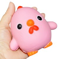 Funny Cartoon Chick Slow Rising Scented Squeeze Relieve Stress Toy Gifts