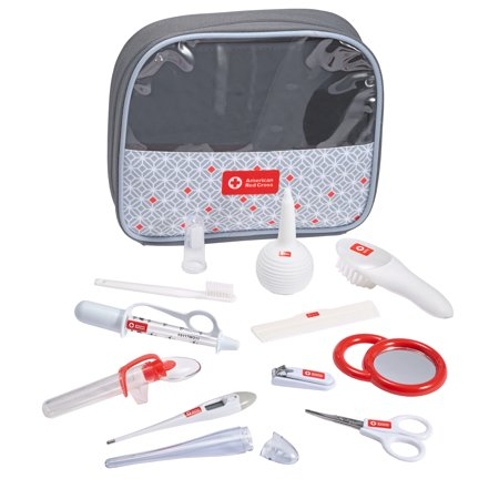 American Red Cross Deluxe Baby Health and Grooming Kit, Infant and Baby Healthcare and Grooming Set Baby Cradle Kit