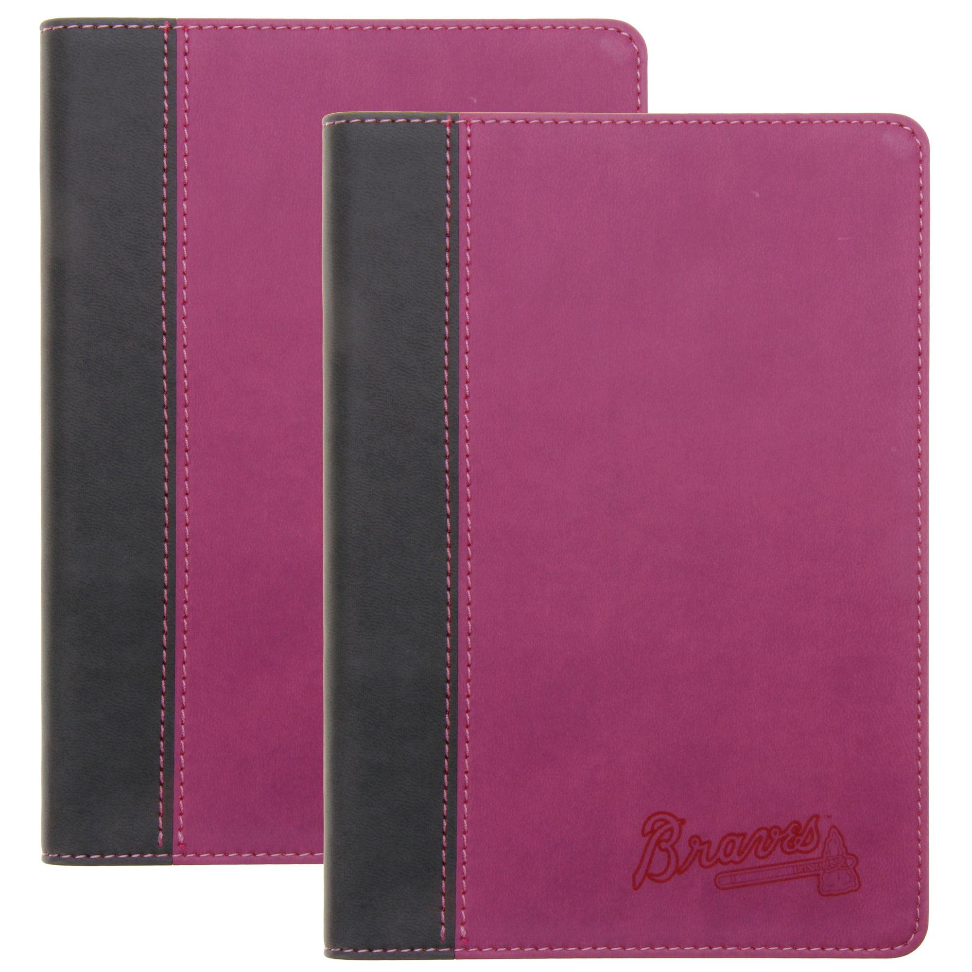 Atlanta Braves Journal 2-Pack - Pink - No Size