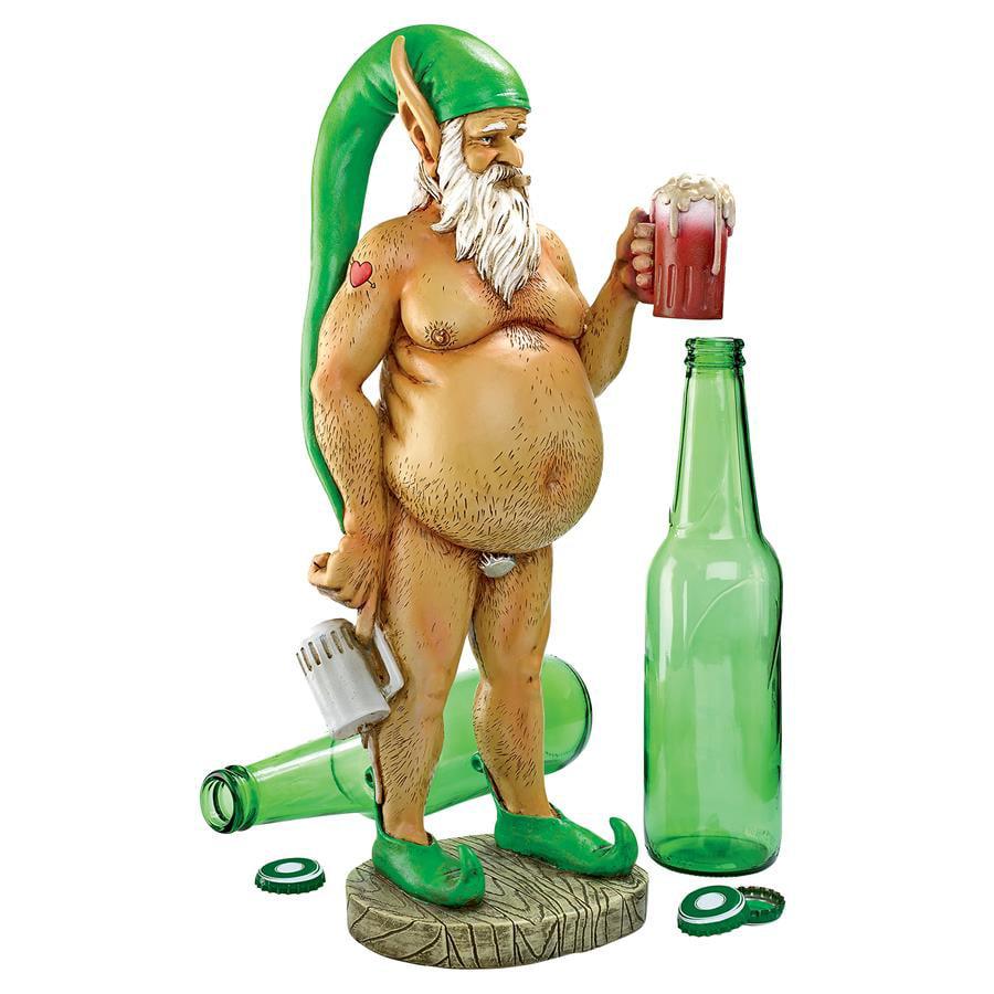 Oktoberfest Otto Fully Krausened Elf Gnome by Design Toscano