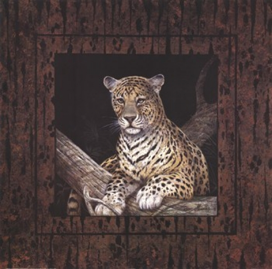 Leopard Poster Print by Ruane Manning (20 x 20)