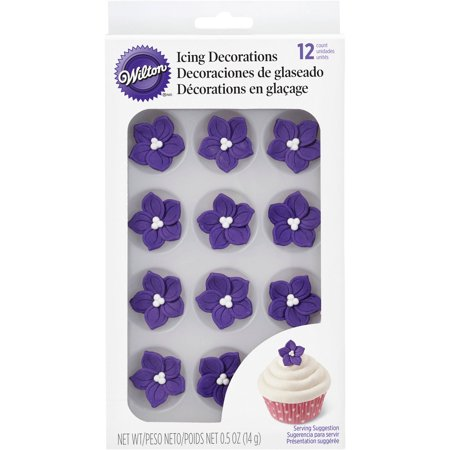wilton cake decorating royal icing decorations purple. Black Bedroom Furniture Sets. Home Design Ideas