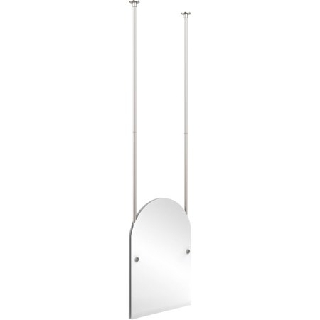 Frameless Arched Top Ceiling Hung Mirror (Build to Order)