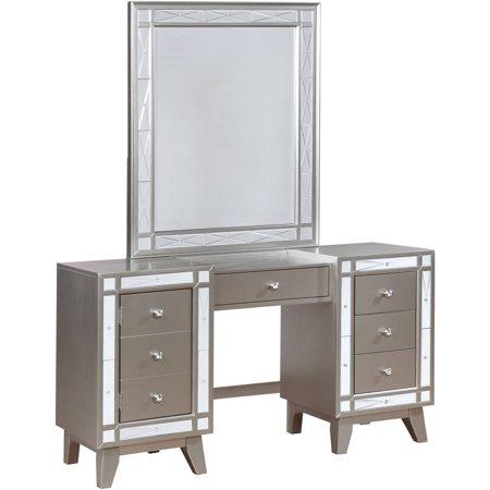 Coaster Company Leighton Vanity Mirror, Metallic Mercury