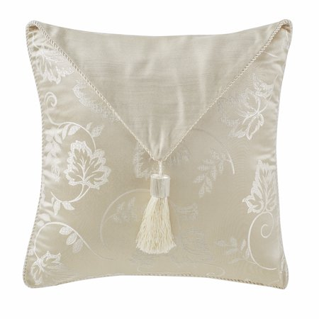 Marquis by Waterford Emilia with regal tassels 16x16 Decorative