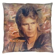 Macgyver Tools Of The Trade Throw Pillow White 26X26