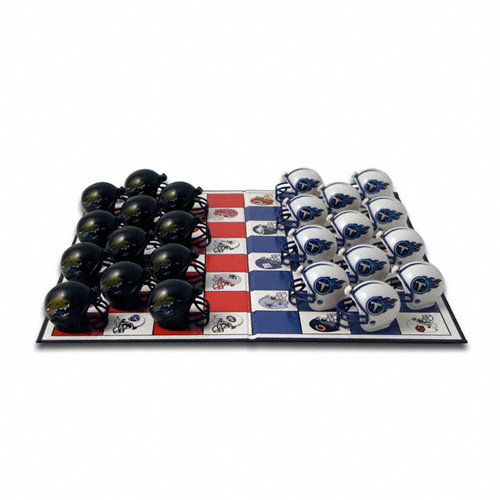 Jacksonville Jaguars Official NFL Checker Set by Rico Industries 121202