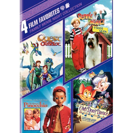 4 Film Favorites: Family Movie Night (DVD) - Top Family Halloween Films