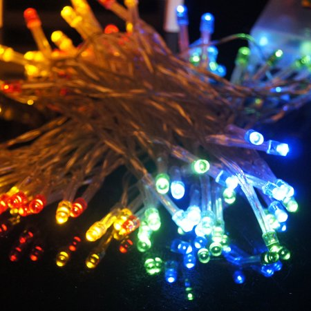 10m 72 LED Battery Operated Party Christmas New Year Party String Light Extra-long standby Time ...