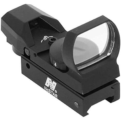 NcStar D4B Red Dot Reflex Sight, 4 Different Reticles, Weaver Base