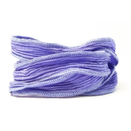 Periwinkle Handmade Silk Ribbon, Solid Blue and Purple blend By Wedding Collectibles](Periwinkle Wedding)