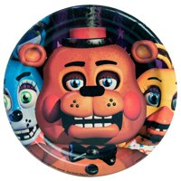 Five Nights at Freddy's Paper Dessert Plates, 7in, 24ct