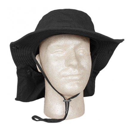 Advanced Hot-Weather Boonie Hat - Black - Outdoor