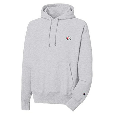 459994468 Champion Men's Athletic - Champion LIFE Men's Reverse Weave Pullover Hoodie,  Oxford Gray/Left Chest