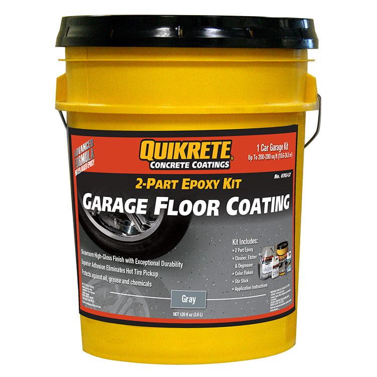 Quikrete Garage Floor 2 Part Epoxy Gray