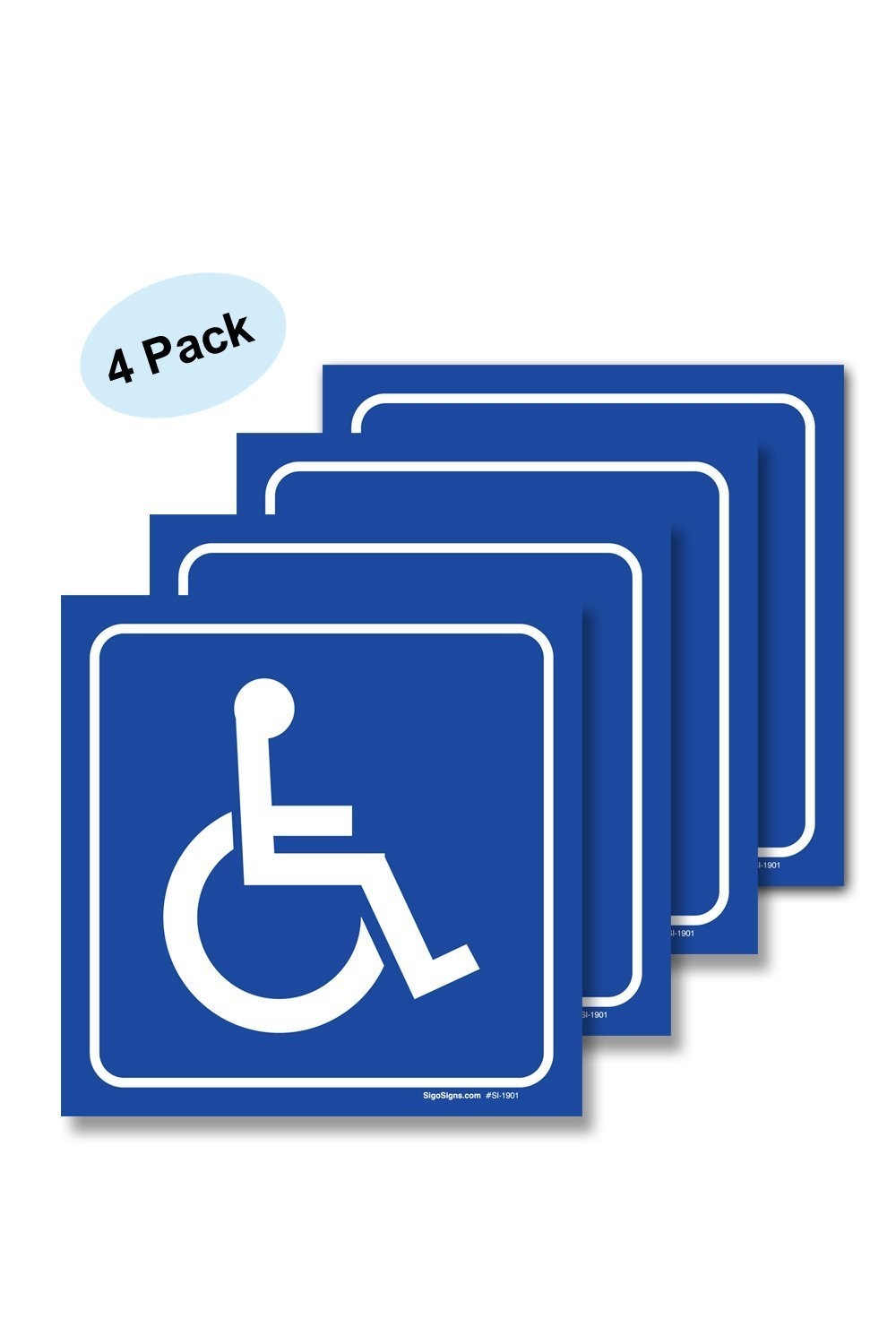 Retail Disabled Wheelchair Gents Accessible Toilet Sign Or Sticker In 5 Sizes