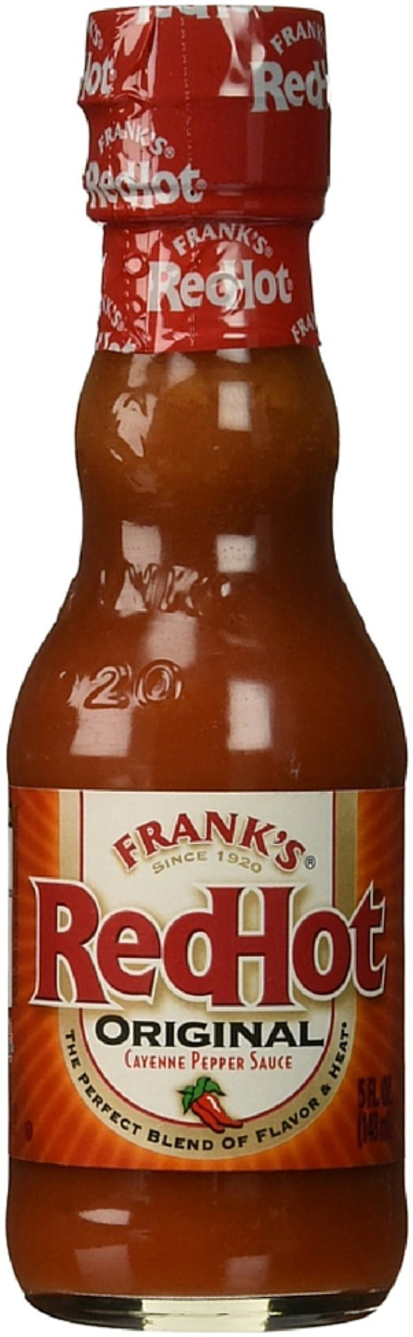 Frank's Original Red Hot Cayenne Pepper Sauce 5 oz (Pack of 3) by