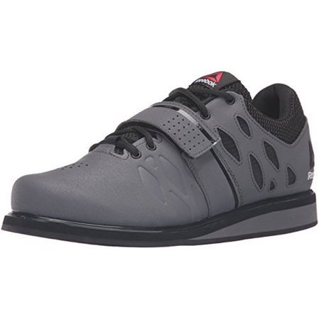 Reebok Mens LIFTER PR, ASH GREY/BLACK/WHITE (Ash Slip On Sneaker)