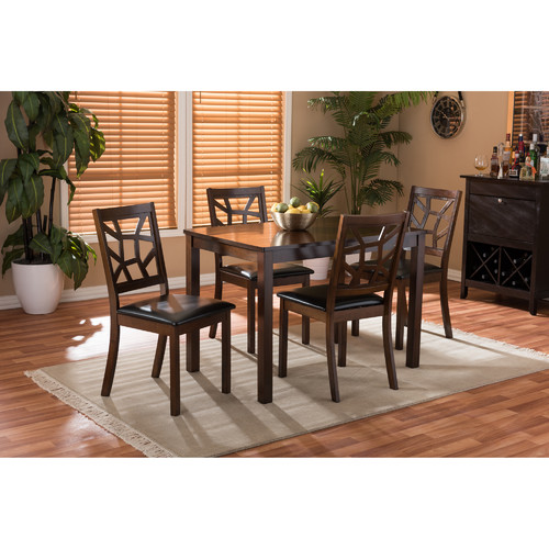 Brayden Studio Delavega 5 Piece Dining Set