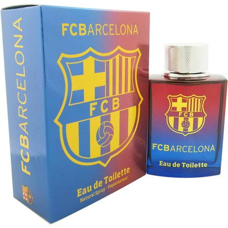 Air Val International Fc Barcelona Edt Spray  3 4 Fl Oz