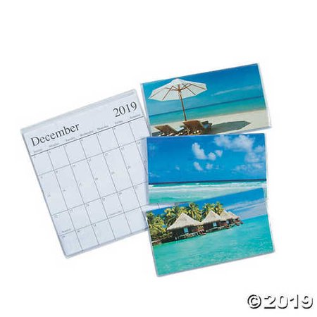 2019 - 2020 Tropical Pocket Calendars