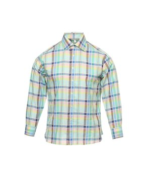 7be0f83e Free shipping. Product Image Mens Green Plaid Button Down Shirt