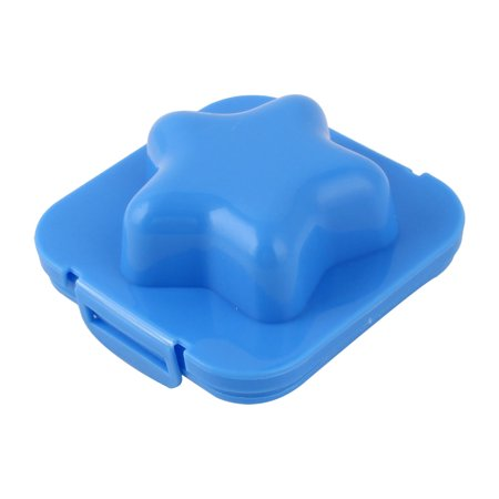 Household Bakery Kitchen Plastic Star Shaped Sandwich Rice Egg Mold Blue - Star Shaped