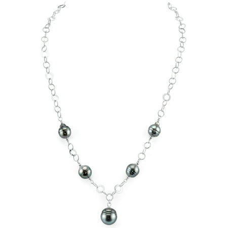 8mm Baroque Shaped Tahitian South Sea Cultured Pearl Necklace ()