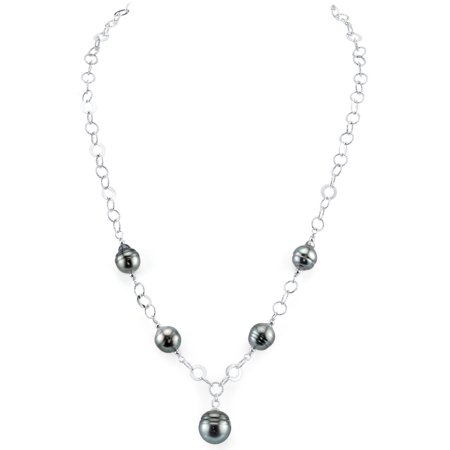 8mm Baroque Shaped Tahitian South Sea Cultured Pearl Necklace