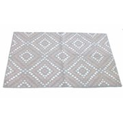 Pink & Gray Cora Dot Skid Resistant Accent Throw Area Rug 30x48