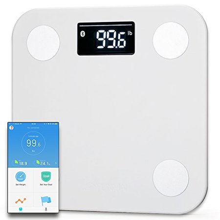 Smart Body Fat Scale With Yunmai APP Sync Apple Health Fitbit Google Fit