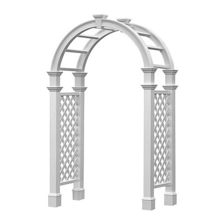 Nantucket Legacy Arbor with Trim