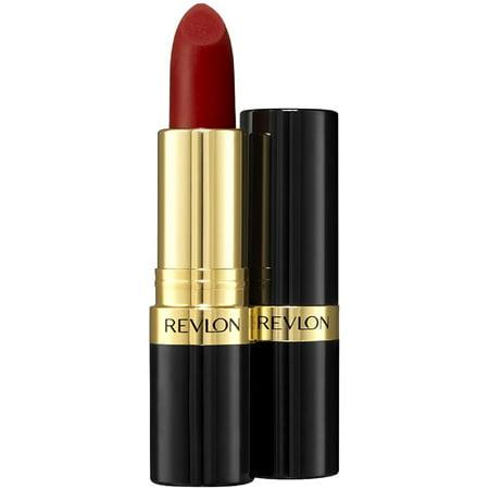 Revlon Super Lustrous Matte Lipstick, Really Red 0.15 oz