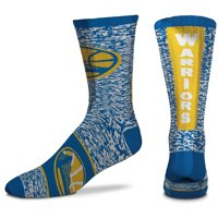 Men's For Bare Feet Golden State Warriors Ticket Heathered Crew Socks - 8-12